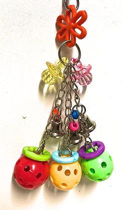 Birdtalk Bird Toys - Mini Balls Mini Bells