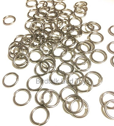 Birdtalk Bird Toys - 10 x 1.5mm Stainless Steel O Rings - Toy Parts