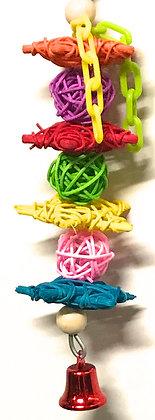 Birdtalk Bird Toys - Vine Stars and Chain