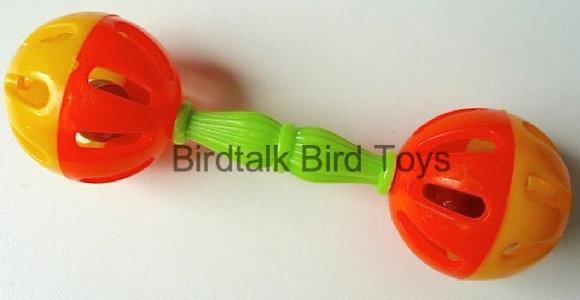 Birdtalk Bird Toys - Birdie Barbells