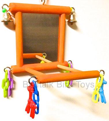 Birdtalk Bird Toys - Budgies Favorite Mirror
