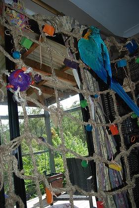 Birdtalk Bird Toys - Abacas Jungle Playground Large