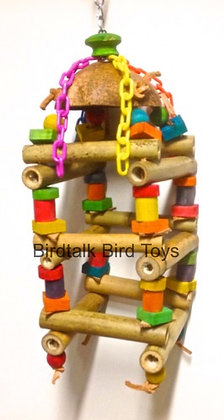 Birdtalk Bird Toys - Jungle Bamboo Tower