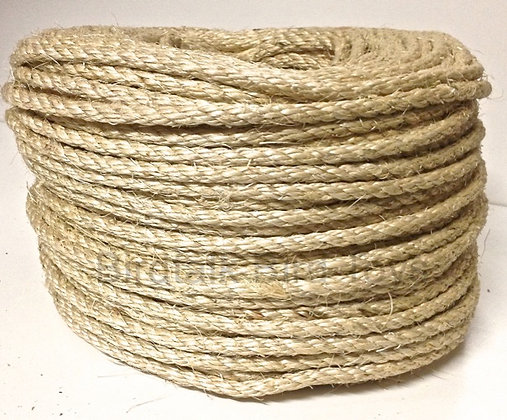 Birdtalk Bird Toys -1 Meter of 4mm Natural Sisal Rope