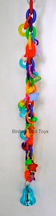 Birdtalk Bird Toys - Rainbow Chain and Charms