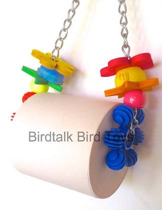 Birdtalk Bird Toys - On A Roll ( Large)