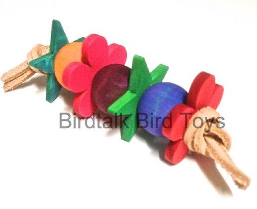 Birdtalk Bird Toys - Dasies and Stars