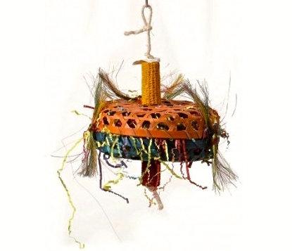 Birdtalk Bird Toys - Cane Basket Lg