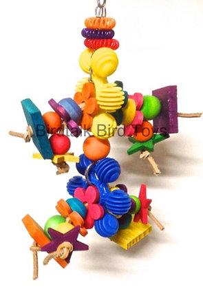 Birdtalk Bird Toys - Dasies and Wood