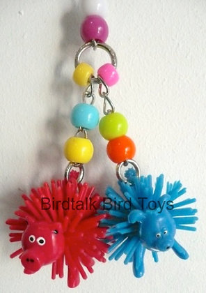Birdtalk Bird Toys - Spikey Animals