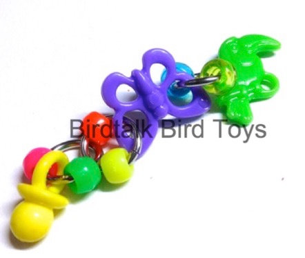Birdtalk Bird Toys - Butterfly Foot Fiddler