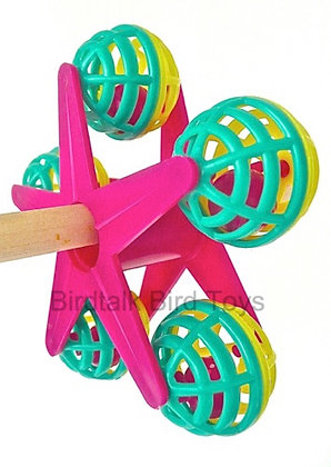 Birdtalk Bird Toys - Perch Twirl