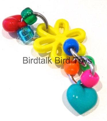 Birdtalk Bird Toys - Dasiey Foot Fiddler