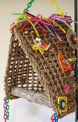 Birdtalk Bird Toys - Boutique Bird Bed TP