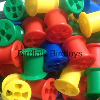 Birdtalk Bird Toys - 1 Plastic Spool