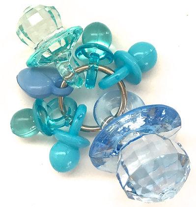 Birdtalk Bird Toys - Pacifiers - Blue