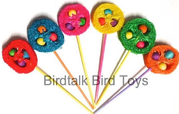 Birdtalk Bird Toys - 1 Lollypop