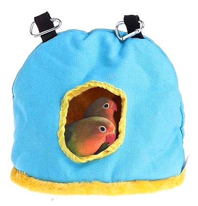 Birdtalk Bird Toys - Snuggle Sack Large Blue