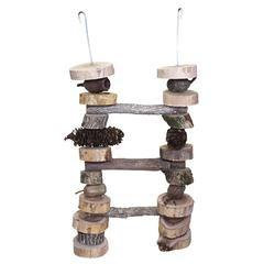 Birdtalk Bird Toys - Natural Ladder (small)