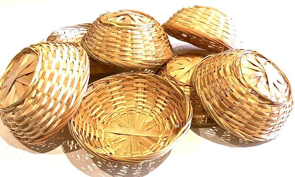 Birdtalk Bird Toys - Bamboo Basket