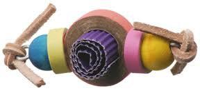 Birdtalk Bird Toys - Tootsie Roll
