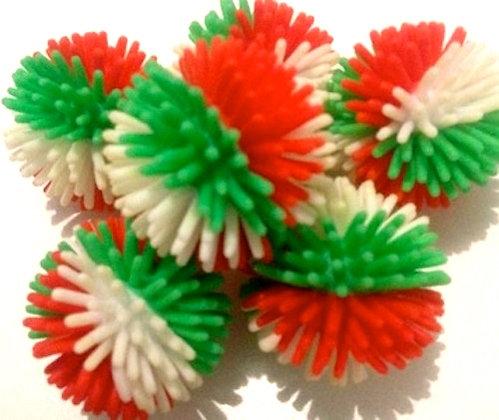 Birdtalk Bird Toys 1 Christmas  Porcupine Ball