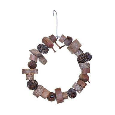 Birdtalk Bird Toys - Large Natural Ring