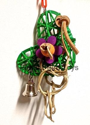 Birdtalk Bird Toys - Vine Heart