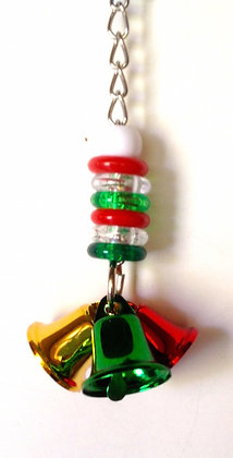 Birdtalk Bird Toys - Budgies Christmas Bells