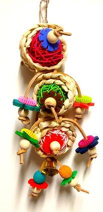 Birdtalk Bird Toys - Triple Vine Balls