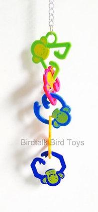 Birdtalk Bird Toys - Monkeys