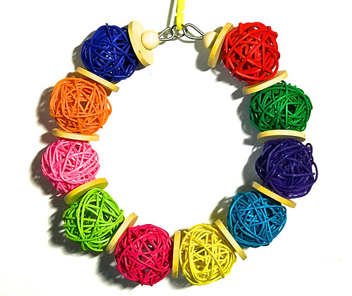 Birdtalk Bird Toys - Vine Wreath