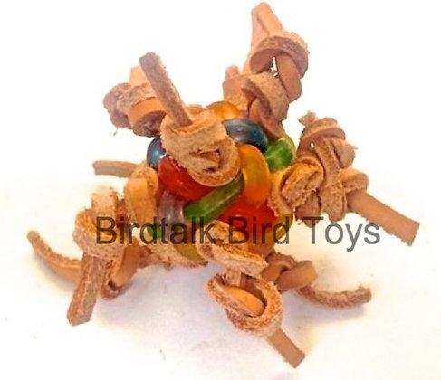 Birdtalk Bird Toys - Knotty Ball