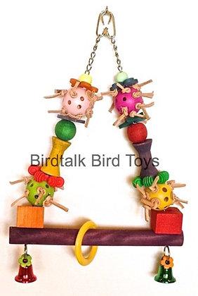 Birdtalk Bird Toys - Party Swing