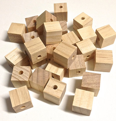 Birdtalk Bird Toys - 10 x 2cm Pine Blocks Toy Parts