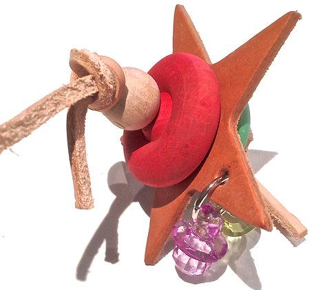 Birdtalk Bird Toys - Leather Starr