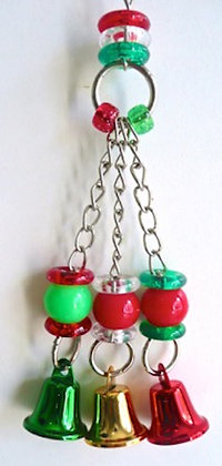 Birdtalk Bird Toys -  Christmas Bells (001)