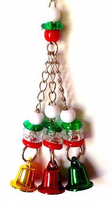 Birdtalk Bird Toys - 3 Christmas Bells