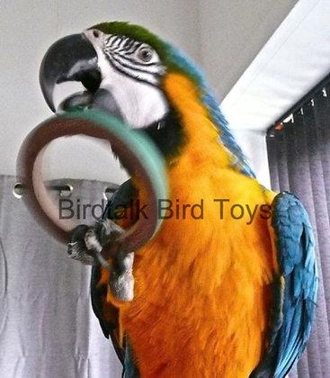Birdtalk Bird Toys -  1 x 10cm Bagel
