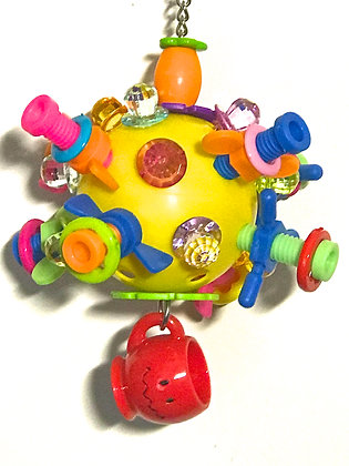 Birdtalk Bird Toys - Come in Spinner