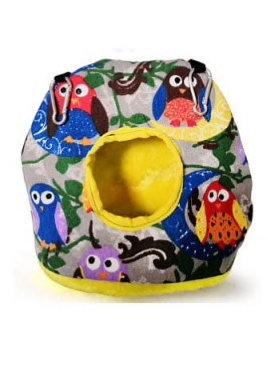 Birdtalk Bird Toys - Snuggle Sack OWLS