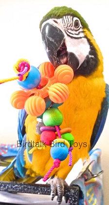Birdtalk Bird Toys - Dollys Daisey Foot Toy