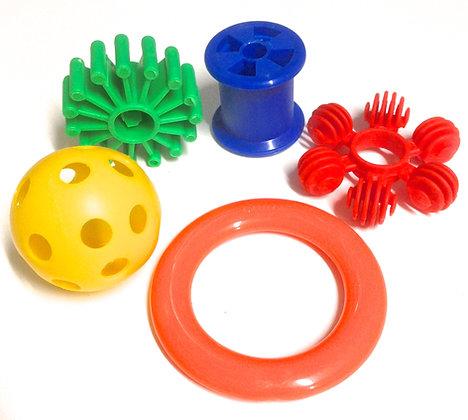 Birdtalk Bird Toys - Bag of 5 Foot Toys