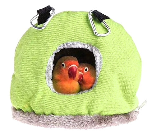 Birdtalk Bird Toys - Snuggle Sack Large Green