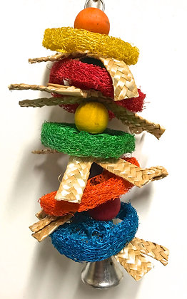Birdtalk Bird Toys - Loofah Kebab
