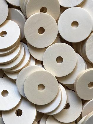 Birdtalk Bird Toys - 10 Wooden Discs - Toy Parts