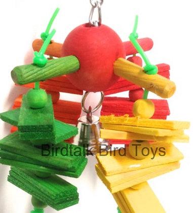 Birdtalk Bird Toys - Ball and Slats