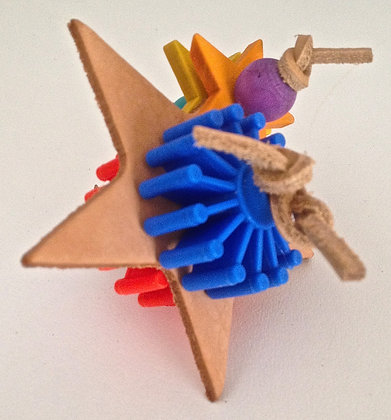 Birdtalk Bird Toys - Stars & Cartwheels