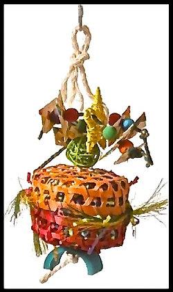 Birdtalk Bird Toys - Cane basket