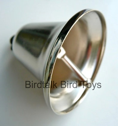 Birdtalk Bird Toys -52mm Silver Liberty Bell